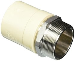 2 in. CPVC CTS MPT x Socket Lead Free Stainless Steel Transition Adaptor