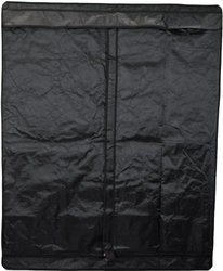 "Aviditi PTU-67 Mylar Reflective Hydroponic Grow Tent with T-Zipper, 48"" Wide by 24"" Deep by 60"" High"