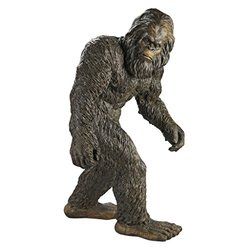 Design Toscano Bigfoot The Garden Yeti Halloween Statue - Size: Large