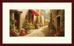 Barewalls 454848S61-MAH,CW,OWW Allee Du Village by Steven Harvey