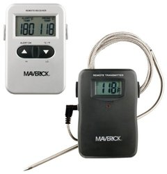 Maverick RediChek Remote Wireless Cooking Thermometer W/ LCD Transmitter