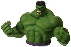 Marvel Comics Raging Hulk 7In. Bust Piggy Coin Bank Avengers