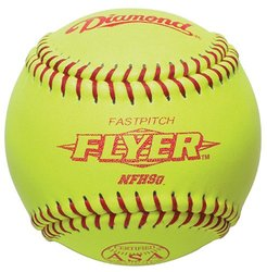 "Diamond 12RFP .47 COR CL 12"" Leather Cover Fastpitch Softball (12-pack)"