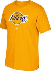 NBA Los Angeles Lakers Men's Full Primary Logo Tee - Gold - Size: Medium