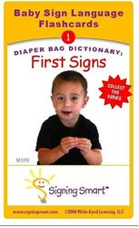 Self Signing Smart Flashcards First Signs Ring Bound