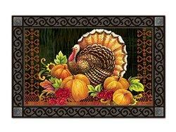 Magnet Works MAIL11026 Give Thanks Turkey MatMate - Doormat