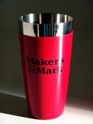 Maker's Mark Pint Cocktail Shaker - Red - Size: Large