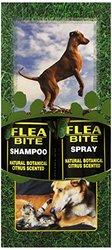 EQyss Flea Bite Pet Shampoo/Spray, Dual Pack