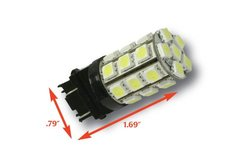 Putco Amber 3156 Type 360-Degree High Intensity LED Premium Replacement Bulb - Sold in Pair