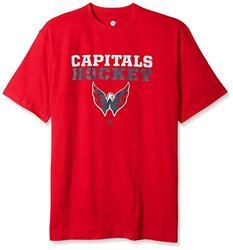 NHL Washington Capitals Men's Short Sleeve T-Shirt - Red - Size: 2X