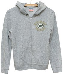 NFL Green Bay Packers Zip Fleece Jacket, Medium