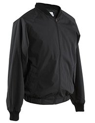 Smitty Men's Full Front Zipper Jacket - Black - Size: 3X-Large