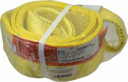 "Liftall EE2804DTX6 4"" x 6' 2-ply Twisted Eye Polyester Web Eye & Eye Sling"