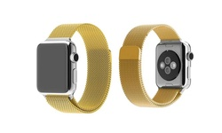 Tribeca Milanese Mesh Band for Apple Watch - Gold - Size: 38mm