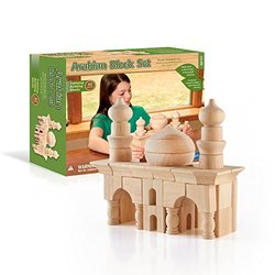 Guidecraft Table Top Arabian Blocks Set - 42 Piece