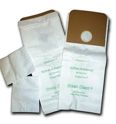Green Klean Replacement Vacuum Bags - 6 quart - Pack of 100 (GK-PT-PRO6Q)