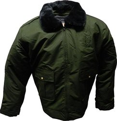 Solar 1 Clothing CC01 Duty Jacket for Law Enforcement and Security, Green, Small