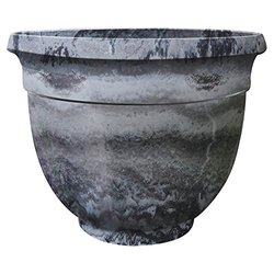 Griffith Creek Designs Round Pot Planter Grey