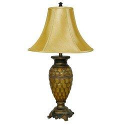 ORE International 8233T Classic Table Lamp - Honey