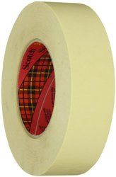 Scotch 36mm x 55m High Performance Masking Tape Tan - Case of 24