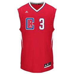 NBA Men's Clippers Chris Paul Replica Jersey - White - Size: Large