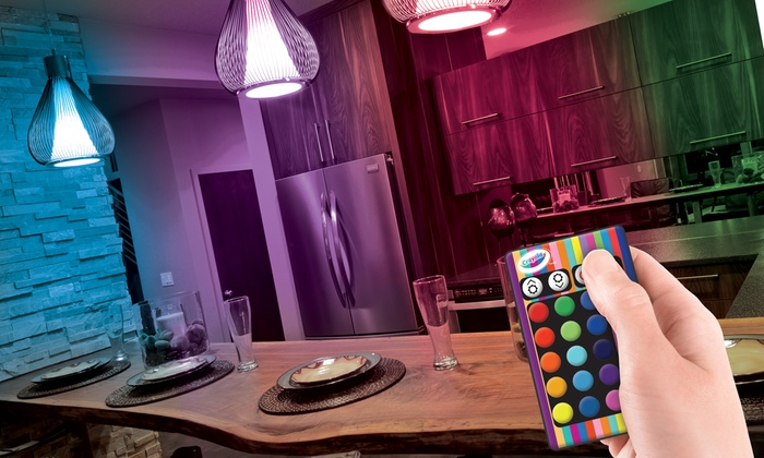 Crayola Color Changing Led Bulb With Remote Control Check Back