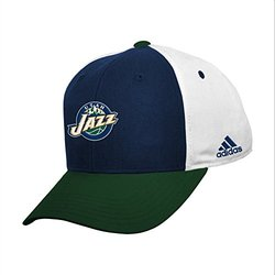 NBA Utah Jazz Youth Boys 8-20 Structured Adjustable Cap, Green, 1 Size