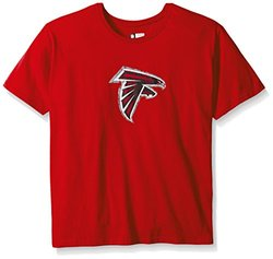 NFL Atlanta Falcons Women's Plus Size Short Sleeve Tee - Red - Size: 3X