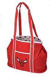 Northwest NBA Chicago Bulls Hampton Tote Bag - Red - Size: 12