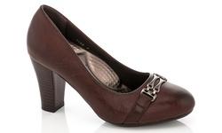 Rasolli Women's Comfort Dress Shoes - 1158/Brown - Size: 7.5