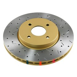 DBA DBA42101XS 4000 Cross Drilled & Slotted Front Vented Disc Brake Rotor