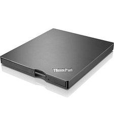 Lenovo Ultra Slim Prtable USB DVD Burner - Black