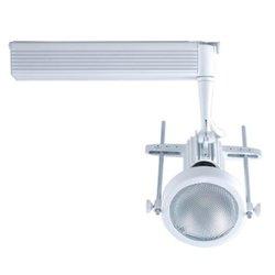 Jesco Lighting HMH901P20201W Contempo 901 Series Metal Halide Track Light Fixture, PAR20, 20 Watts, White Finish