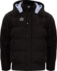 Admiral Parka Soccer Sideline Winter Jacket, Black, Youth Large