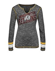 VF LSG Women's NFL Long Sleeve Split Crew Neck Tee - Multi - Size: S