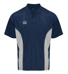 Argo Soccer Coach Sideline Polo Shirt - Navy/Silver - Size: Adult X-Large