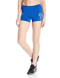 ASICS Women's Team Performance Volleyball Shorts, Royal, XX-Small