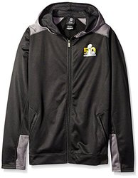 NFL Super Bowl 50 Youth 8-20 Full Zip Hood-S(8)