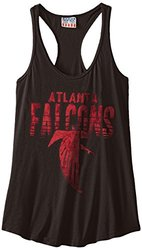 NFL Atlanta Falcons Women's Touchdown Tank Top - Black - Size: Medium