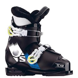 Salomon Team T2 Kids Ski Boots - Black/White - Size: 5.5 US