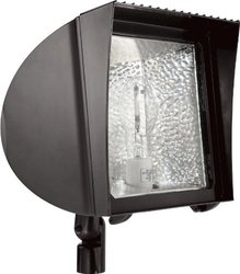 RAB 100W 120V Hpf With Arm Flexflood Flood Light