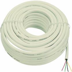 Audiovox TP004RV Round Phone Wire Line Cord  Ivory