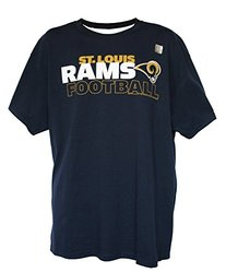 NFL Men's Wordmark Logo T-Shirt by G-III - St. Louis Rams - Size: Large