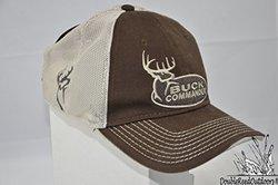 Buck Commander Men's Mesh Fitted Cap - Brown/Cream