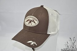 Duck Commander Brown Mesh Fitted Ball Cap