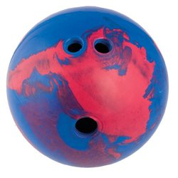 Champion Sports Rubber Bowling Ball - Blue