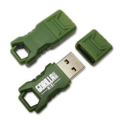 EP Memory Mini GorillaDrive Rugged 8GB USB Flash Drive 8Pk - Green