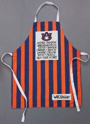 "Magnolia Lane Auburn Tigers Grillin Apron - Blue/Orange - 34""Lx27W"