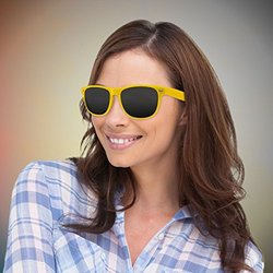 Windy City Novelties Retro Sunglasses - 12 Pack - Yellow
