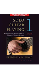 Frederick Noad Solo Guitar Playing Book 1 - 4th Edition